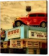 Route 66   Hdr Canvas Print
