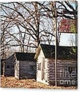 Route 66 John's Modern Cabins Canvas Print