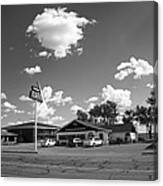 Route 66 - Midpoint Cafe Adrian Texas Canvas Print