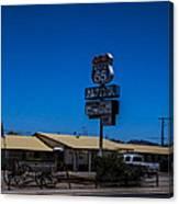 Route 66 Motel Canvas Print