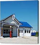 Route 66 Odell Il Gas Station 02 Canvas Print