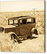 Route 66 Relic Canvas Print