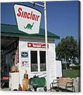 Route 66 - Sinclair Station Canvas Print