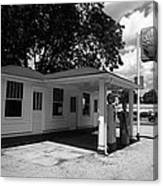Route 66 - Soulsby Service Station Canvas Print
