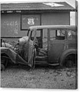 Route 66 Travels Canvas Print
