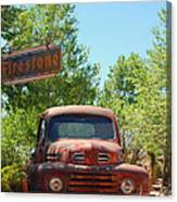 Route 66 Truck Canvas Print