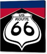 Route 66 - U. S. Canvas Print