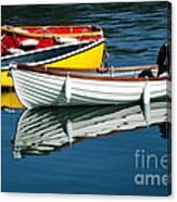 Row-boats Canvas Print