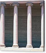 Row Of Columns San Francisco Ca Canvas Print
