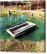 Row Row Your Boat Canvas Print