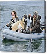 Row Your Goat Canvas Print