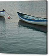Rowboats Canvas Print