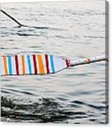 Rowing Oar Canvas Print