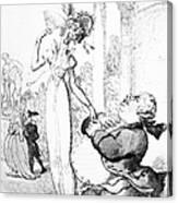 Rowlandson: Cartoon, 1810 Canvas Print