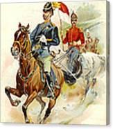 Roxbury Horse Guards 1895 Canvas Print