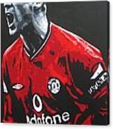 Roy Keane - Manchester United Fc Canvas Print