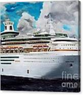 Royal Caribbean Sovereign Of The Seas Canvas Print