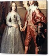 Royal Couple, 1641 Canvas Print