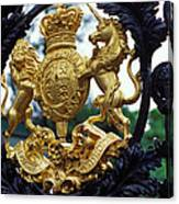 Royal Crest In London Canvas Print