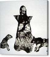 Royal Dogs Canvas Print