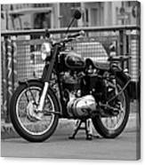 Royal Enfield Goes Berlin Canvas Print