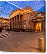 Royal Exchange Square At Borders Canvas Print