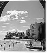 Royal Hawaiian Hotel Canvas Print