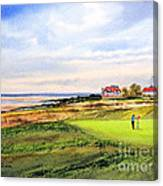 Royal Liverpool Golf Course Hoylake Canvas Print