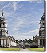 Royal Naval College Courtyard Canvas Print