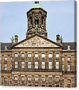 Royal Palace In Amsterdam Canvas Print