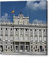 Royal Palace Of Madrid Canvas Print