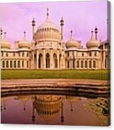 Royal Pavilion In Brighton England Canvas Print