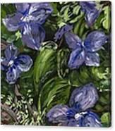 Royal Purple Canvas Print