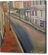 Royal Steet I Canvas Print