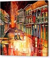 Royal Street Serenade Canvas Print