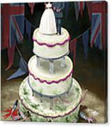 Royal Wedding 2011 Cake Canvas Print
