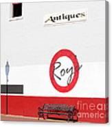 Roy's Antiques Canvas Print