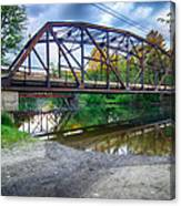 Rt 106 Bridge Canvas Print