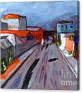 Rua Dr Rafael Ribeiro Study IV Canvas Print