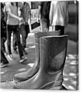 Rubber Boots Canvas Print