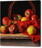 Rubens Apples Canvas Print