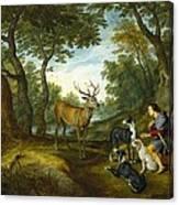 Rubens, Peter Paul 1577-1640 Breugel Canvas Print