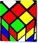 Rubik's Phone Canvas Print