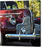 Ruby Red Buick Canvas Print