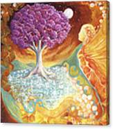 Ruby Tree Spirit Canvas Print