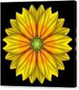 Rudbeckia Prairie Sun I Flower Mandala Canvas Print