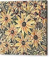 Rudbeckia - Rudbeckie Canvas Print