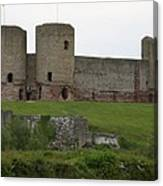 Ruddlan Castle 2 Canvas Print