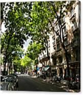 Rue Caulaincourt Montmartre Canvas Print