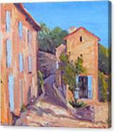 Rue De Gordes Canvas Print
